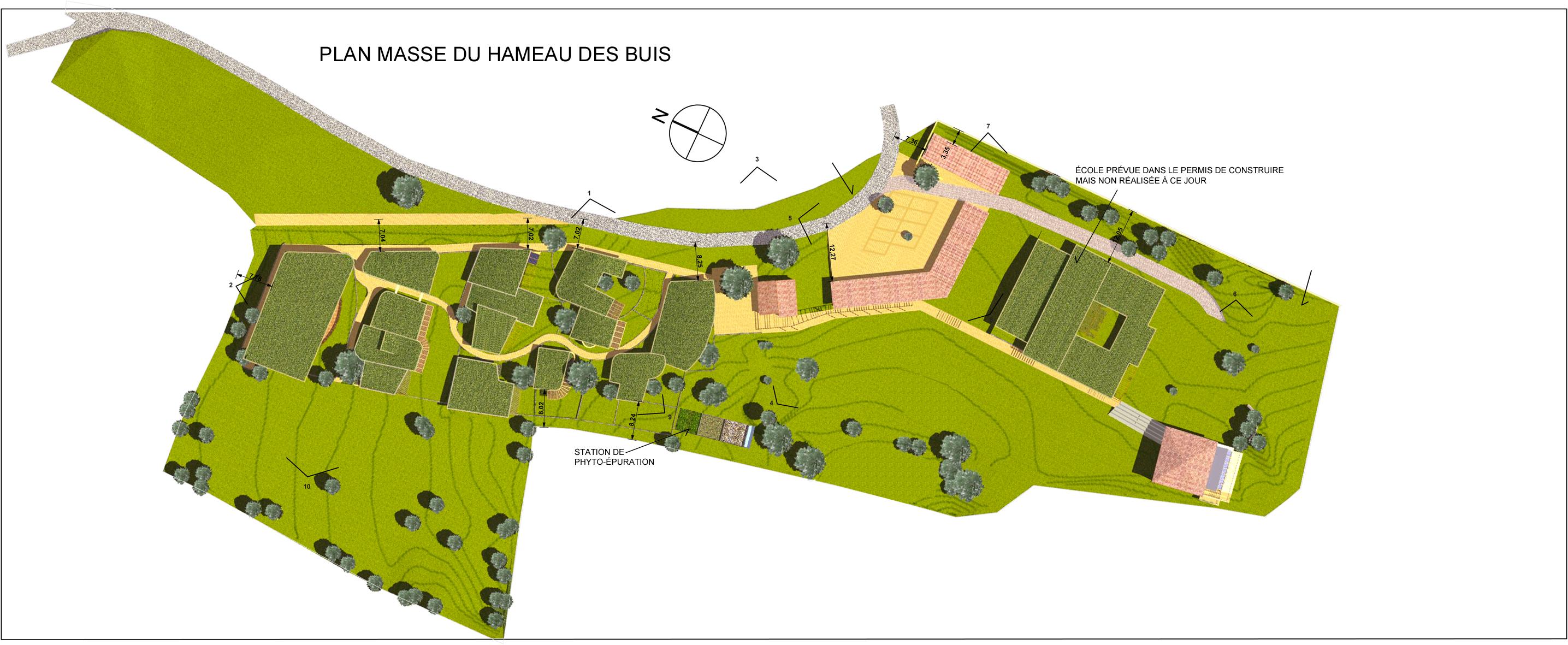 Plan masse janvier 2016